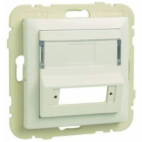 Tapa para Adaptador para Conectores de Fibra Óptica SC APC Duplex Aluminio