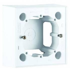 Caja de Superficie para Serie Logus 90 | Serie Quadro 45 Blanco
