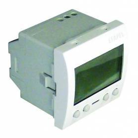 Cronotermostato Digital - 2 Módulos Aluminio