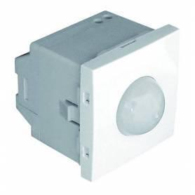 Detector de Movimiento de 1000W - 2 Módulos Blanco Mate