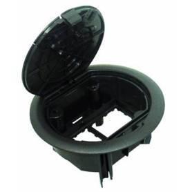 Caja de Suelo - 4 Módulos Gris