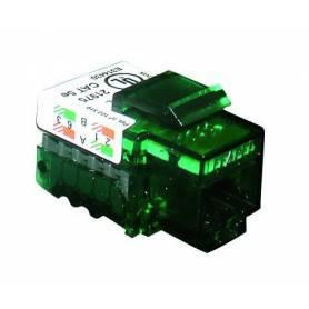 Conector Hembra RJ45 Cat. 5e UTP (100 MHz)