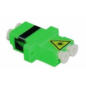 Adaptador para Conectores de Fibra Óptica LC Duplex