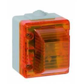 Señalizador Luminoso Alto  Gris/Rojo