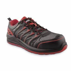 Zapato Seguridad Workfit Xcross Rojo - Talla 46