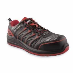 Zapato Seguridad Workfit Xcross Rojo - Talla 45