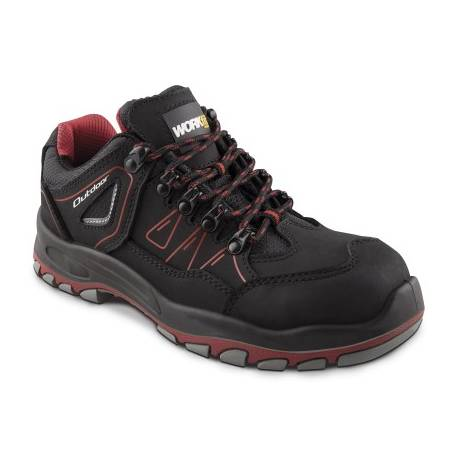 Zapato Seguridad Workfit Outdoor Rojo - Talla 44
