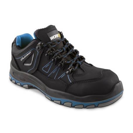 Zapato Seguridad Workfit Outdoor Azul - Talla 42