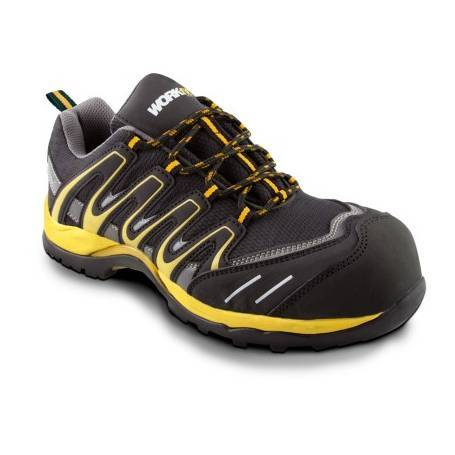 Zapato Seguridad Workfit Trail Amarillo -  Talla 41