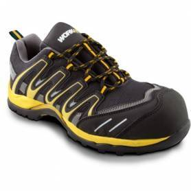 Zapato Seguridad Workfit Trail Amarillo -  Talla 40