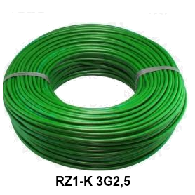 CABLE RZ1-K 3G2,5 LH VERDE