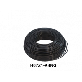 CABLE LH H07Z1-K 4 MM NEGRO