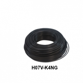 CABLE FLEXIBLE H07V-K  4,00 MM NEGRO