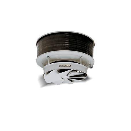 Aerotermo a agua Sabiana Comfort 6/8 polos,  solo calor para techo con proyección de aire vertical 48Z-007