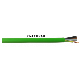 CABLE Z1Z1-F VERDE 16G0,5 MM LH