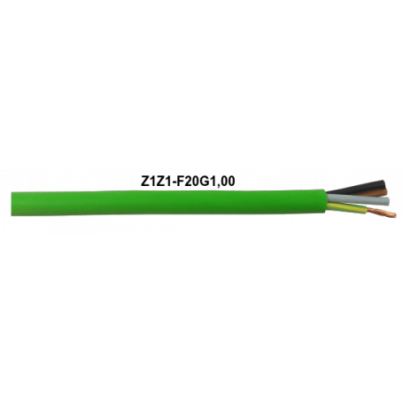 CABLE Z1Z1-F VERDE 20G1 MM LH
