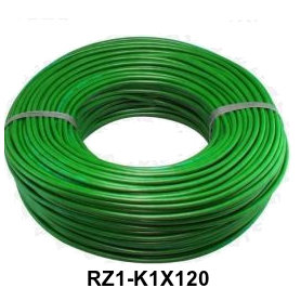 CABLE RZ1-K 1 X 120 LH VERDE