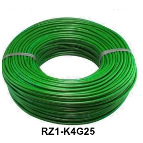 CABLE RZ1-K 4 G 25 LH VERDE