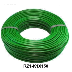 CABLE RZ1-K 1X150 MM LH VERDE