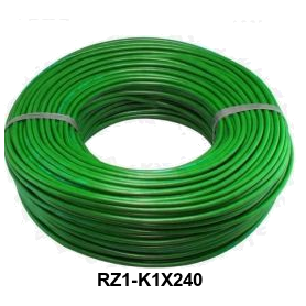 CABLE RZ1-K 1X240 MM LH VERDE