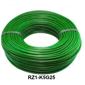 CABLE RZ1-K 5G25 MM LH VERDE
