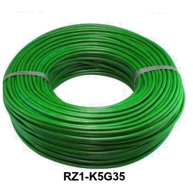CABLE RZ1-K 5G35 MM LH VERDE