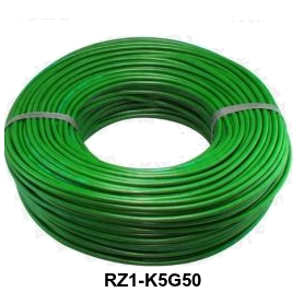 CABLE RZ1-K 5G50 MM LH VERDE