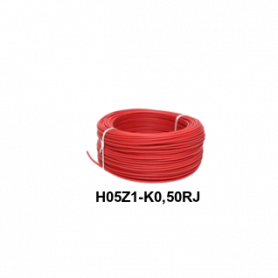 CABLE LH H05Z1-K 0,5 MM ROJO