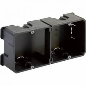 Caja universal empotrable con tabique de separación 145x67x42