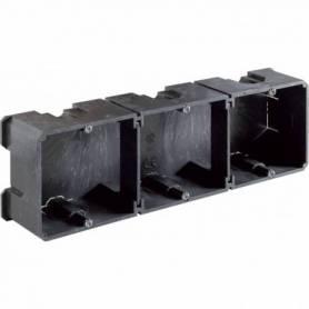 Caja universal empotrable con tabique de separación 217x67x42