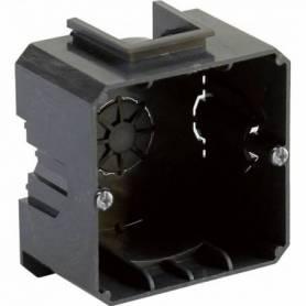 Caja para empotrar universal enlazable para tabique de hormigón