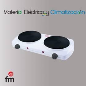 Hornillo eléctrico de 2 Placa de FM