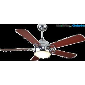 Ventilador 132 cm Ø con luz LED y mando