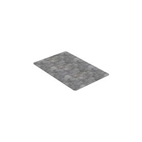 Placa metálica para montaje especial con tornillos de fijación 440x290x2