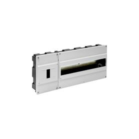 Caja con compartimiento precintable y distribución 420x188x55