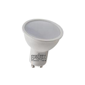 Bombilla dicroica regulable modelo GU10 RE 7W 3000K Marca Prolux
