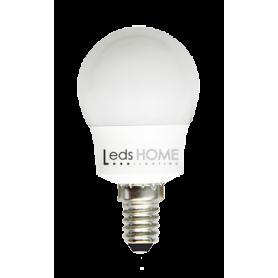 BOMBILLA ESFERICA E14/E27 5.5W LED NEUTRA Marca Leds Home