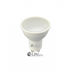 LAMPARA LED GU10 SMD 8w 704lm 120º 4500k DIMABLE Marca LDV