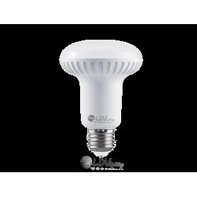 LAMPARA LED R-63 8w E27 720lm 100º 6000k Marca LDV