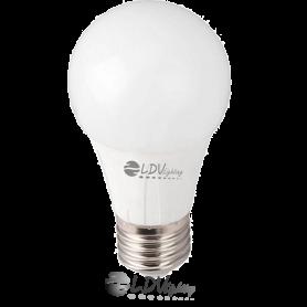 LAMPARA LED ESTANDAR 8w E27 806lm 330º 6000k Marca LDV