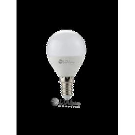 LAMPARA LED ESFERICA 06w E27 510lm 180º 6000k Marca LDV