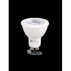 LAMPARA LED GU10 SMD 6W 528lm 50º 3000K Marca LDV