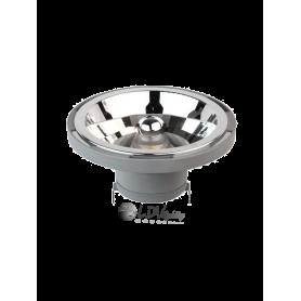 LAMPARA LED AR111 14w G53 980lm 24º12v 2800k Marca LDV