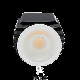 Dicroica LED GU10 SPOT RGB DIMMABLE 12W 38° cálido Marca Rgb Led