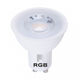 Dicroica LED GU10 DIMMABLE 7W SMD 520Lm 36° NEUTRO Marca Rgb Led