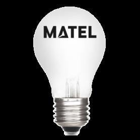 Bombilla estándar Incandescente MATE E-27  40w Marca Matel
