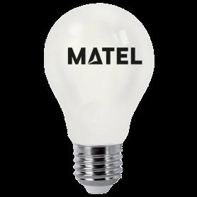 Bombilla Led Filamento A70 E27 10w OPAL FRIA Marca Matel