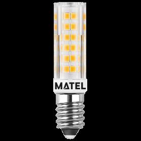 Bombilla Led  E14 230v.  8w. 360º CALIDA Marca Matel