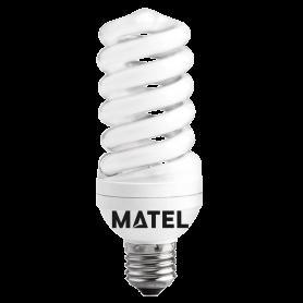 Bombilla Espiral MICRO L/CAL. E-27 35w Marca Matel