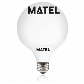 Bombilla Led Globo G80 E27 12w.FRIA Marca Matel
